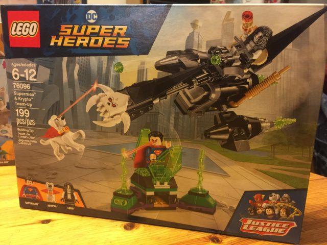 76096 Superman Krypto Team-Up Box