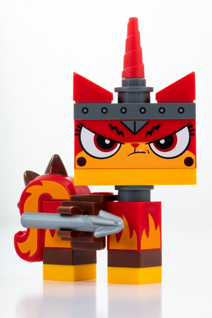 Apocalypseburg Unikitty LEGO SDCC-exclusive 2