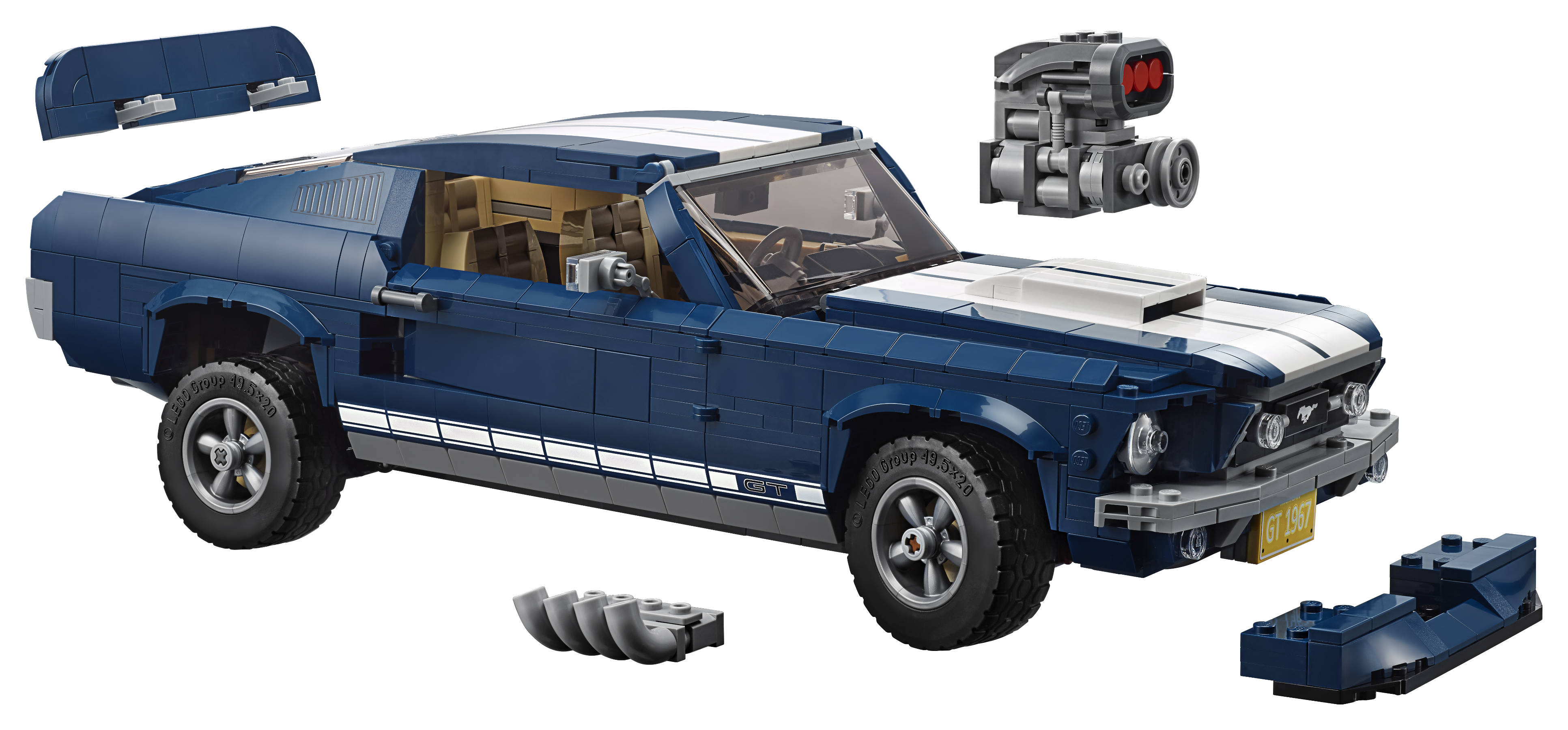 Lego Announces 10265 Ford Mustang Fbtb