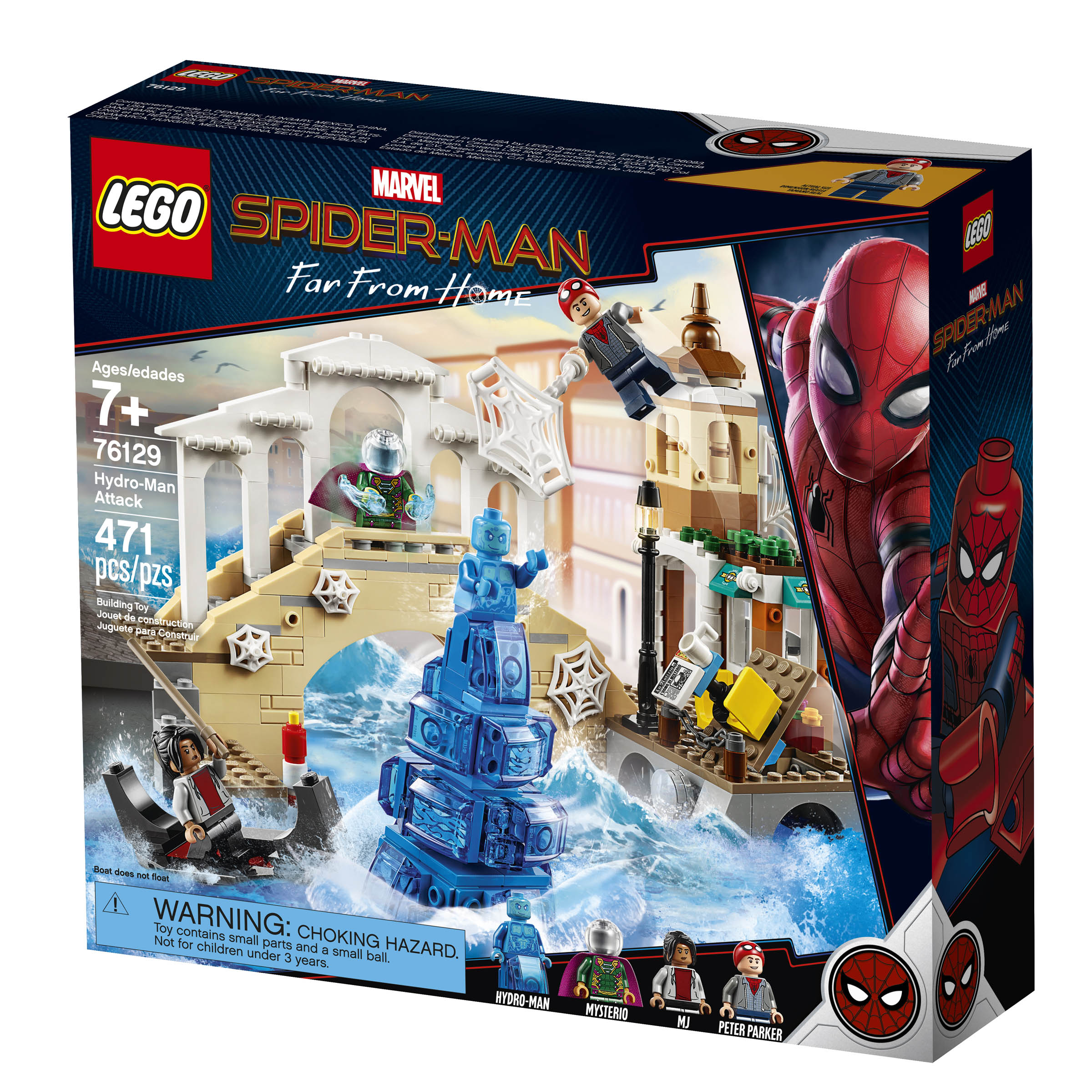 New Spider-Man: Far From Home LEGO Sets Revealed - FBTB