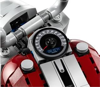 Harley-Davidson Fat Boy LEGO Set 11