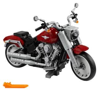 Harley-Davidson Fat Boy LEGO Set 4
