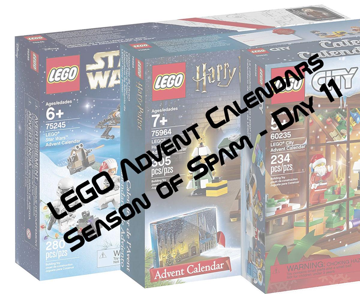 LEGO Advent Calendars Season of Spam - Day 11 - FBTB