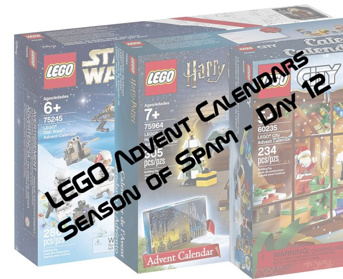 lego advent calendars season of spam day 12 fbtb. Black Bedroom Furniture Sets. Home Design Ideas