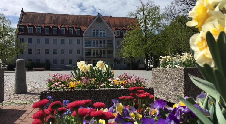 Bobingen im Frühling