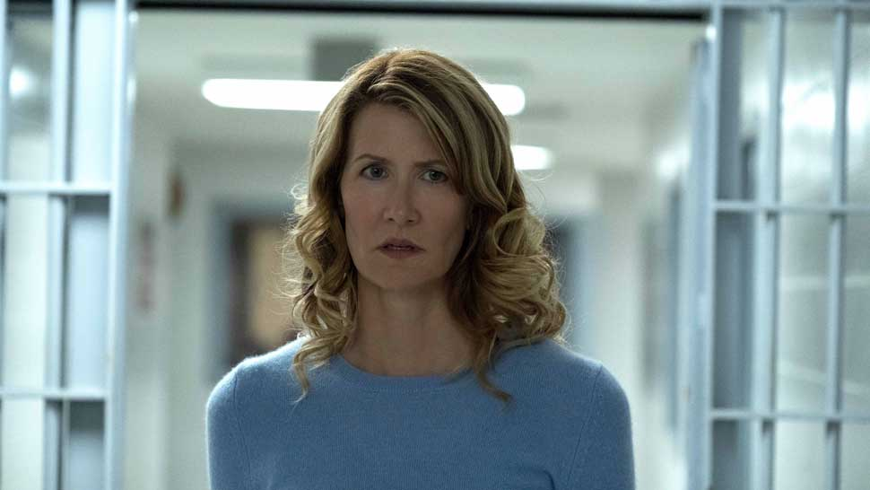 Laura Dern in TRIAL BY FIRE. Photo Credit: Steve Dietl. Courtesy of Roadside Attractions