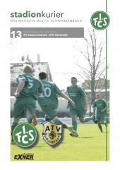 13 Stadionkurier  FCS vs ATV Höchstädt
