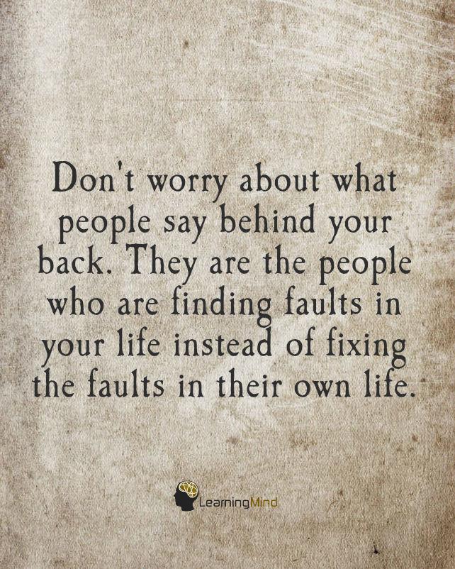 别担心你背后的人