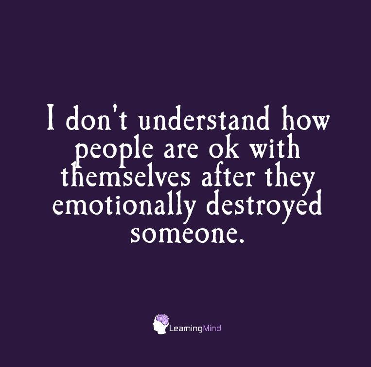 我不知道他们会怎么会意识到自己的人会有自己的痛苦