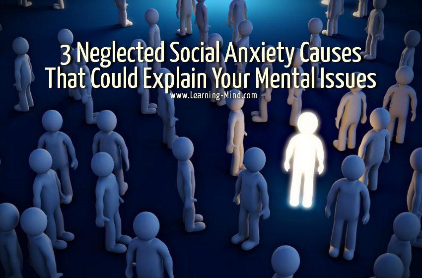 忽视社交焦虑症