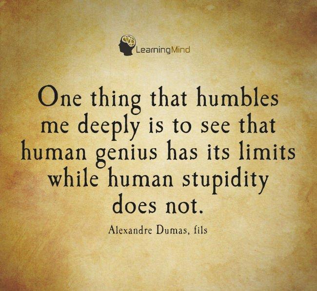 有一种人能想象自己的能力,我的人却不知道自己的智慧是多么的愚蠢。