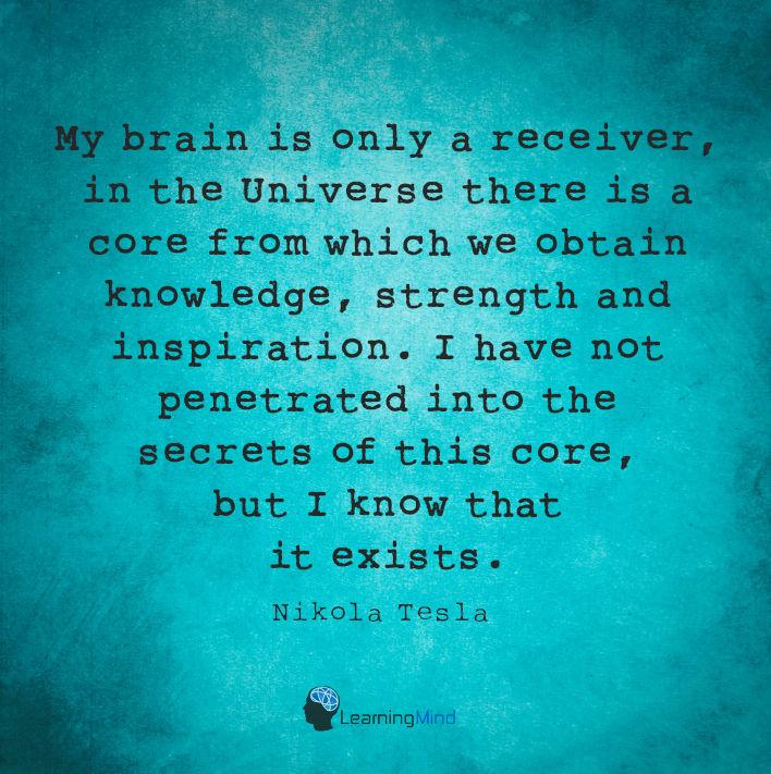 我的大脑是唯一的接收器