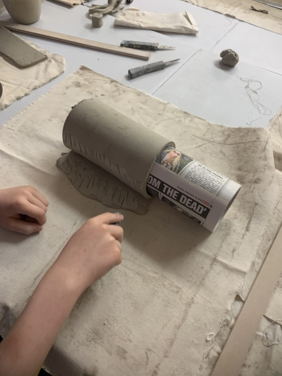 Rolling Clay Slabs