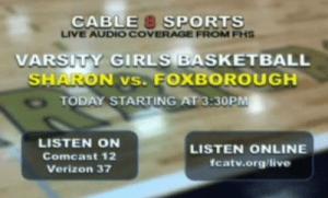 Foxborough Varsity Basketball Coverage