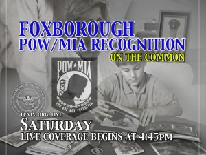 Foxborough POW/MIA Recognition 2012