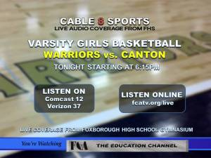 Foxborough Varsity Girls Basketball vs. Canton Bulldogs - Live Coverage