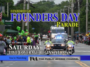 Foxborough Founders Day 2013