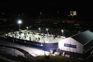 Winter Skate at Patriot Place presented by Harvard Pilgrim Health Care.