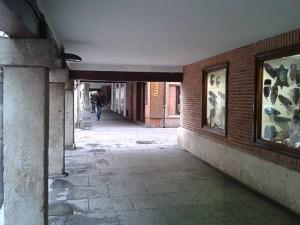 Soportales calle Mayor de Alcalá de Henares