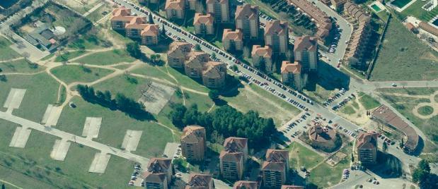 Foto aérea Ciudad del Aíre