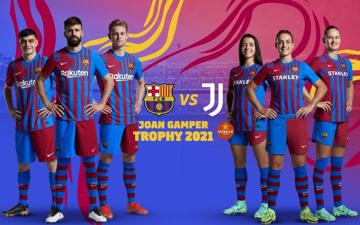 Men and women to face Juventus in Joan Gamper Trophy