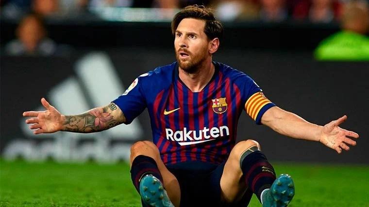 Resultado de imagen para messi cuando fue presentado como jugador del barcelona
