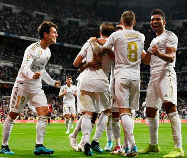 Real Madrid Gets Rid Of Osasuna   And Assaults The Leadership