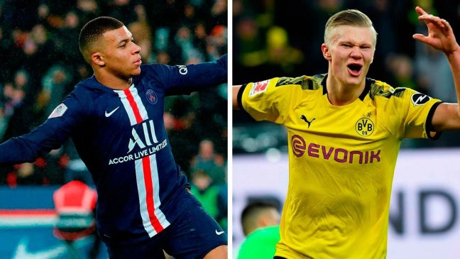 Mbappé and Haaland, the two cracks that Madrid wants for 2021