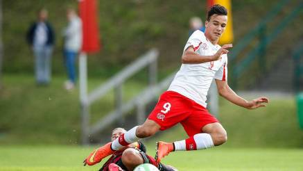 The Barça does with a Swiss promise for the forward