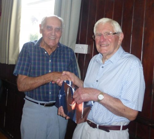 Ron and Dick at his 90th birthday party