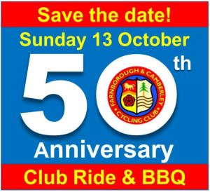 REMINDER – SAVE THE DATE 13TH OCTOBER