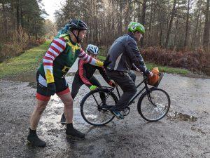 Cheap Bike Xmas Challenge – Muddy Fun!
