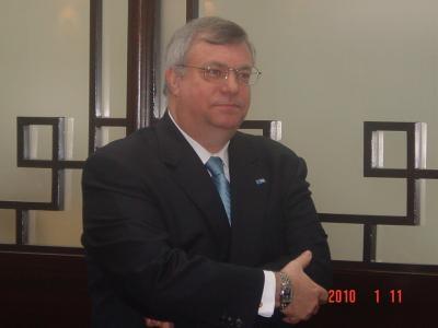 FCC club lunch with Philip S. CARMICHAEL