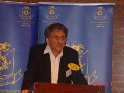 FCC club dinner with Ramachandra GUHA