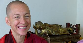 Club Lunch: From Banker to Buddhist Nun – A Life Transformed