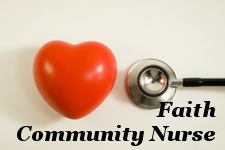 Faith Community Nurse portal new