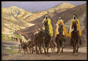 "James Tissot ""The Journey of the Magi"""