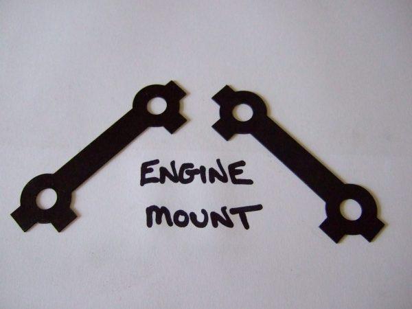 Engine mount tab washer