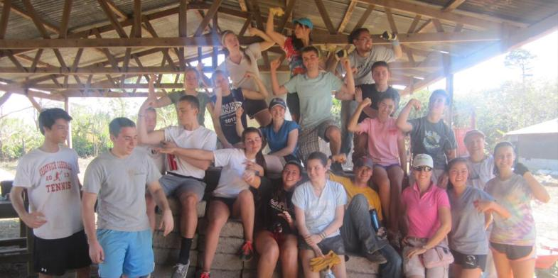 2014 Youth Mission Team in Nicaragua