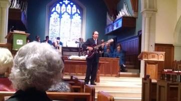John Collins and guitar