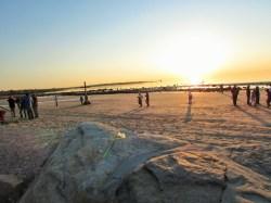 09-Beach after sunrise service-1