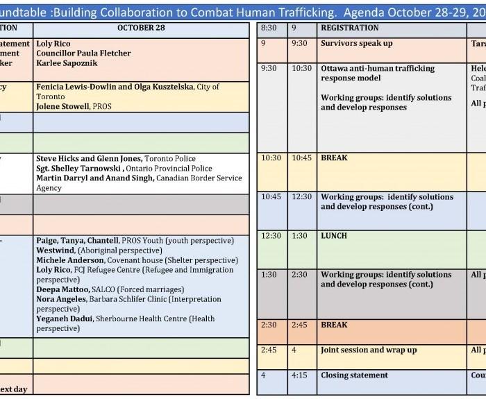 agenda oct 21
