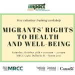 Workshop: Migrants' Right to Heath & Well-Being