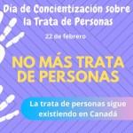 La trata de personas sigue existiendo en Canadá