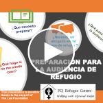 Webinar | Preparación para la Audiencia de Refugio