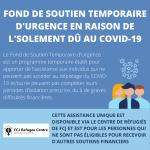 Fond de Soutien Temporaire d'Urgence en raison de l'isolement dû au COVID-19