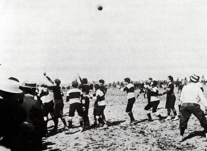 l'histoire du rugby - rugby lézignan corbières