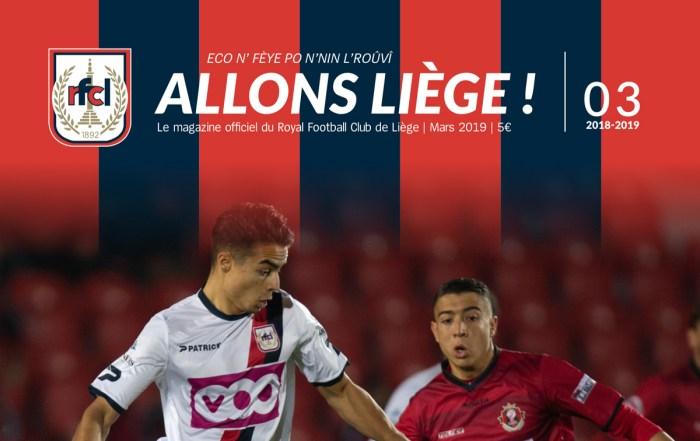 Nouveau Magazine Allons Liège - Mars 2019