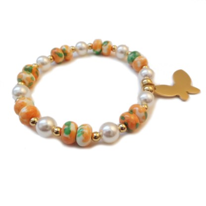 Bracelet-Butterfly-Glass-Pearl-2