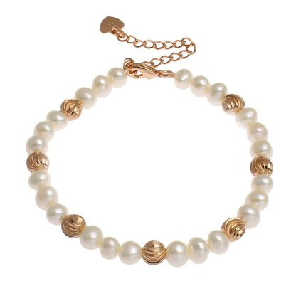 Bracelet-with-pearl-rose